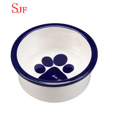 Keramik Pet Feeder Dog Bowl