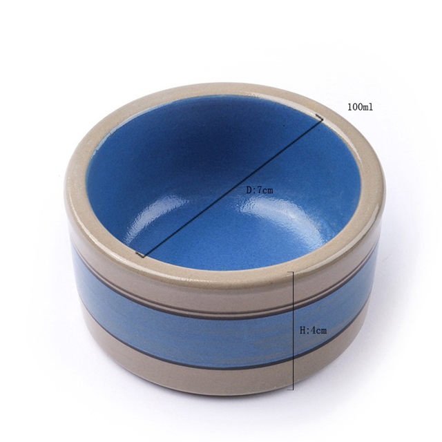 Hochwertige Keramik Pet Bowl Katzenhund Dual Purpose Dog Cat Bowl